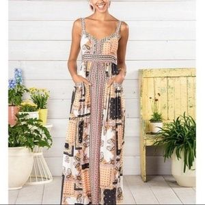Matilda Jane boho style maxi dress